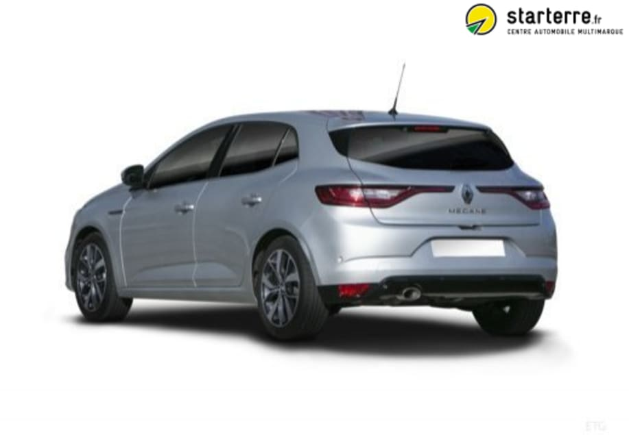 renault megane iv berline tce 130 energy intens 126615 starterre. Black Bedroom Furniture Sets. Home Design Ideas
