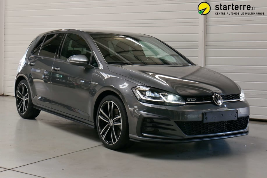 volkswagen golf vii nouvelle gtd dsg 2 0 tdi 184. Black Bedroom Furniture Sets. Home Design Ideas
