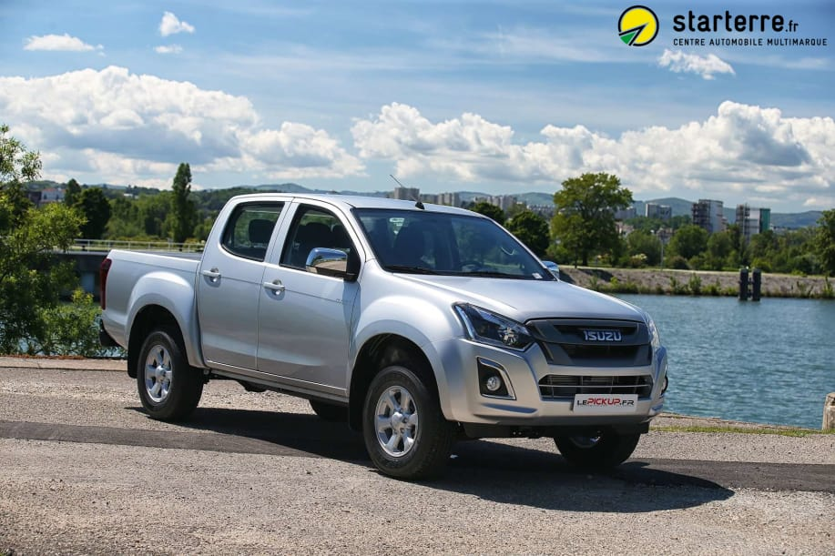 Isuzu D-MAX 1.9 4X4 CREW CAB PLANET country MY18 Sapphire Blue Mica