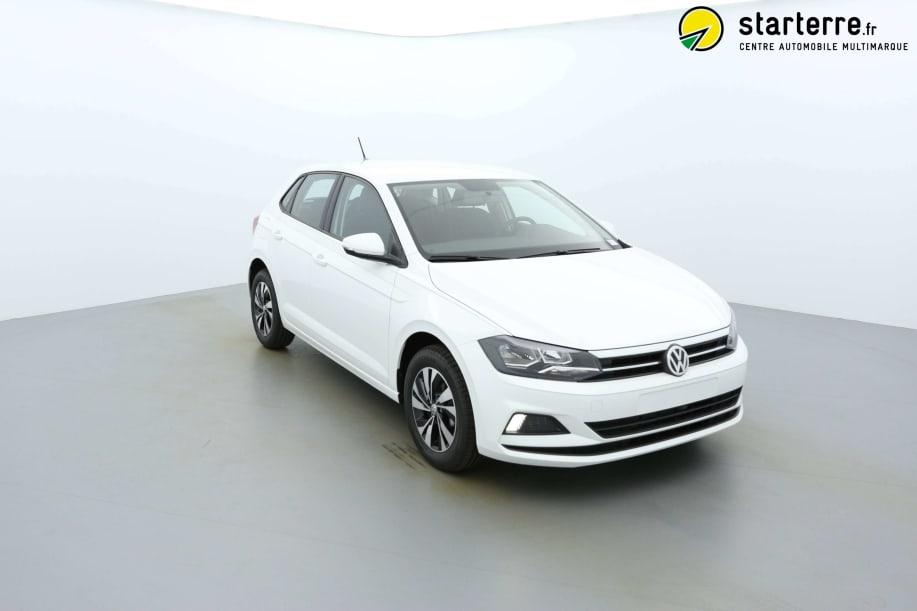 Volkswagen POLO Nouvelle 1.0 TSI 95 S&S CONFORTLINE Blanc Pur