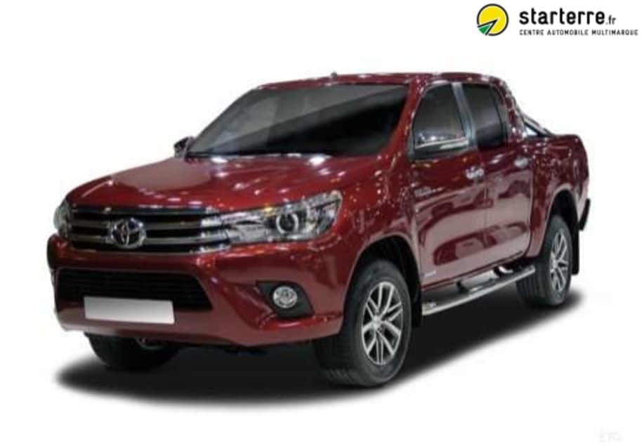 Toyota Hilux Double Cabine 4WD 2.4L 150 D-4D BVA LOUNGE Noir Attitude