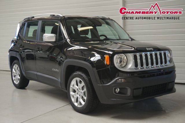 voiture jeep renegade 2 0 i multijet s s 140 ch 4x4 limited occasion diesel 2015 10 km. Black Bedroom Furniture Sets. Home Design Ideas