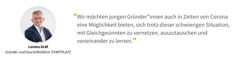Lorenz Graef Zitat über Digital Networking Week