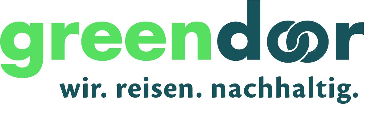 Logo greendoor travel UG