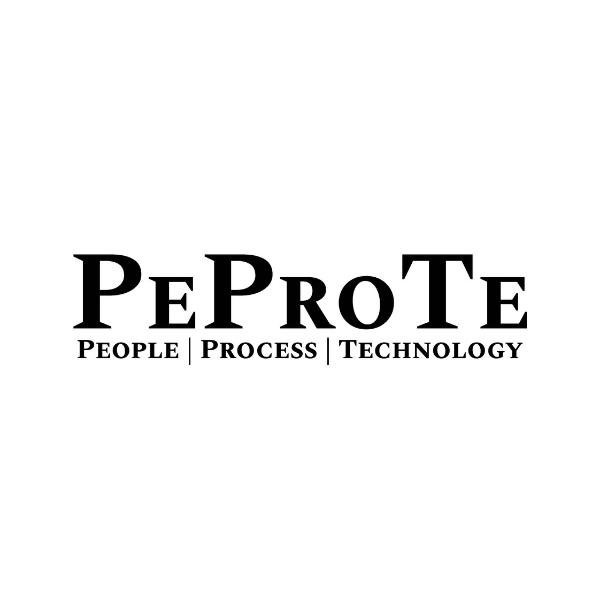 Logo PEPROTE – PEOPLE  | PROCESS | TECHNOLOGY