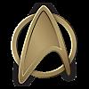 Starfleet Command Formal Insignia 2260s (Kelvin)