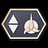 Klingon Communicator Insignia 2360s