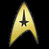 NCC-1701 Enterprise Crew (Command) A