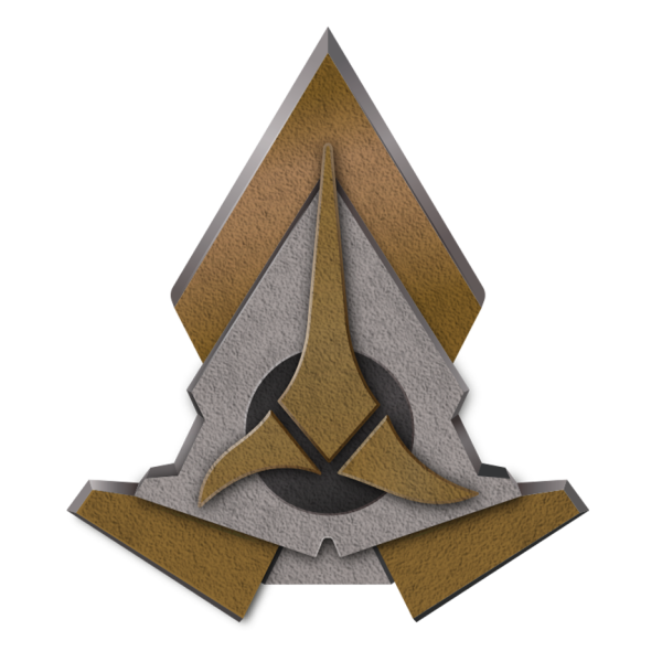 Klingon communicator insignia2370s