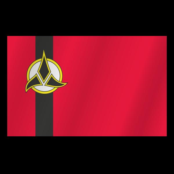 Klingon diplomatic flag