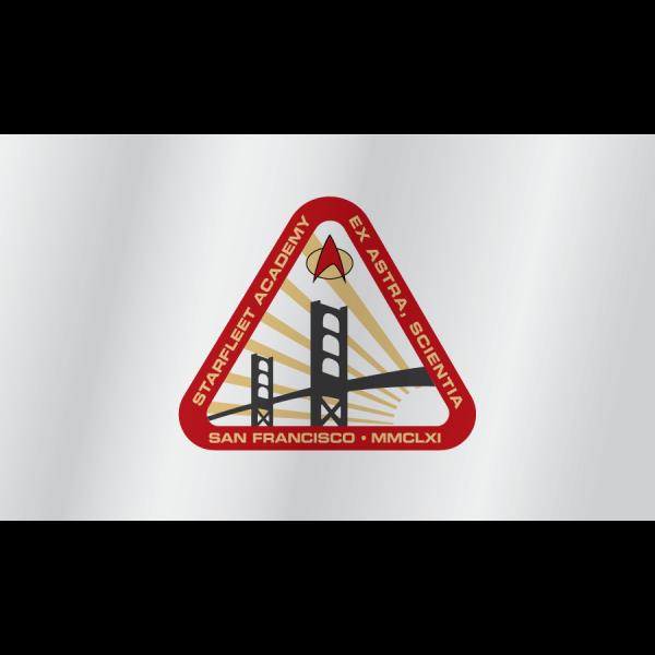 Starfleet academy flag 2360s