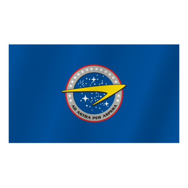 United earth starfleet command flag