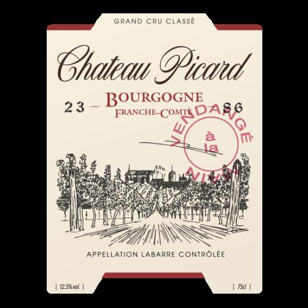 Chateau picard label