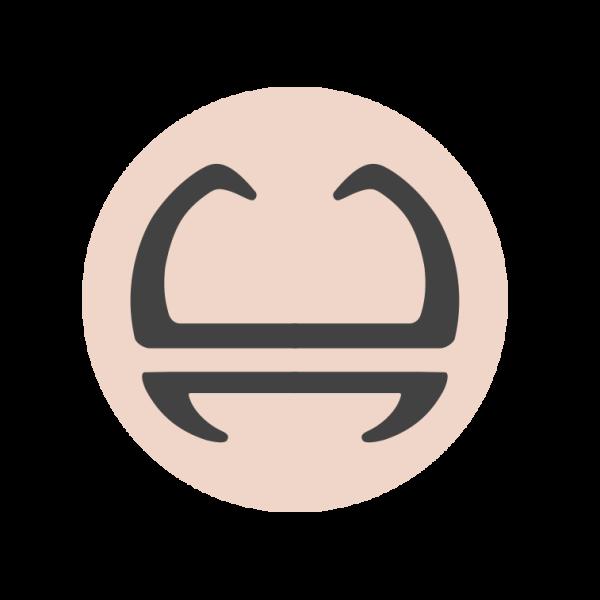 Risian facial mark b