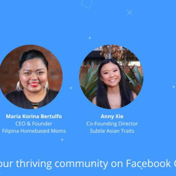 Build your thriving community on Facebook Groups
