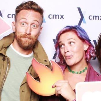 CMX Connect NYC:  Savannah Peterson & David Spinks