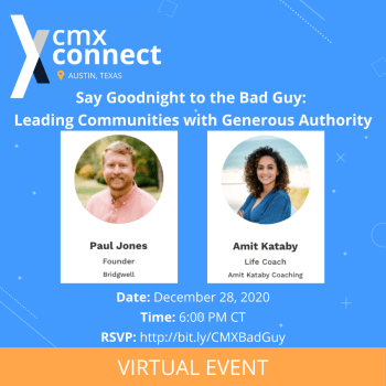 Say Goodnight to the Bad Guy: Leading Communities with Generous Authority