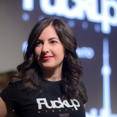 Marsha Druker (Fuckup Nights Toronto & Create Community Podcast)