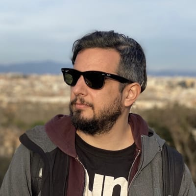 Aggelos Afratis's avatar.'