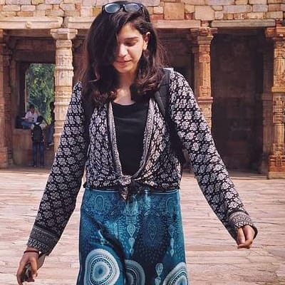Rakshita Anand's avatar.'