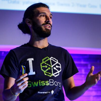 Cyrus Fazel (SwissBorg)