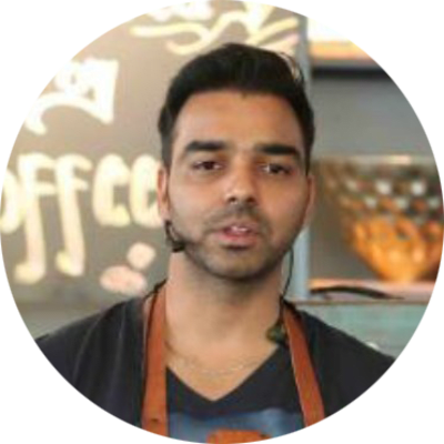 Dushyant Singh (OTH Bristos & Bakers, All Spice Catering Co, Rustic, Gourmet Getaway)