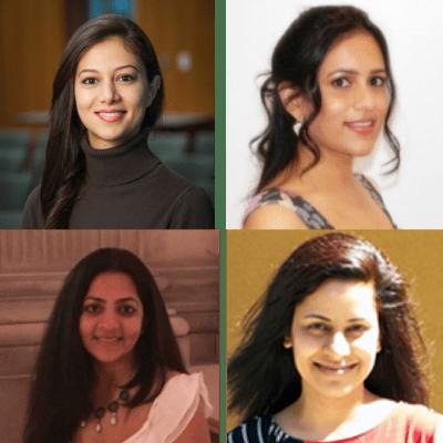 Saylee R, Niousha B, Yukte O (Female Founders Month)