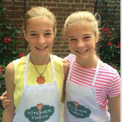 Emily and Lyla Allen (Kitchen Twins)