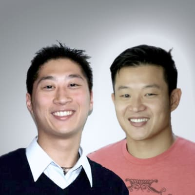 Douglas Ma (Uber) and John Dang (ZipMatch)