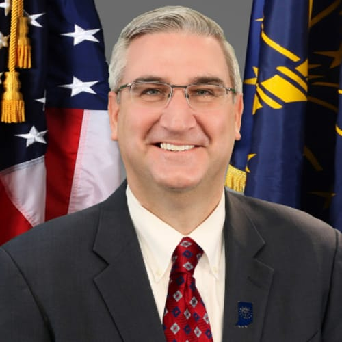 The Honorable Eric J. Holcomb