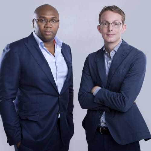 Jason Njoku and Bastian Gotter