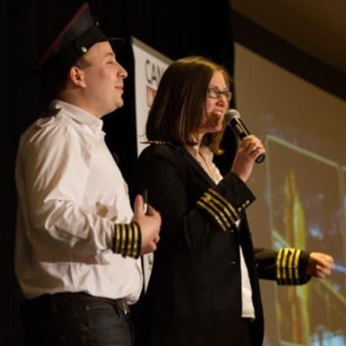 Fraser Paterson & Nadine Shemilt