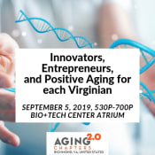 Innovators, Entrepreneurs, and Positive Aging for each Virginian