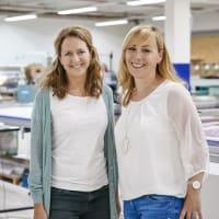 Rabea Knippscheer und Stefanie Gärtner (Limmaland)
