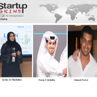 Aysha, Faraj, Ahmed (Qatar Business Incubation Center)