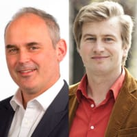Kristo Käärmann and Thorold Barker (TransferWise & WSJ)