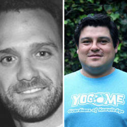 Rafael de Haro Partner at Variv Capital Y Manolo Díaz Fundador de YOGOME