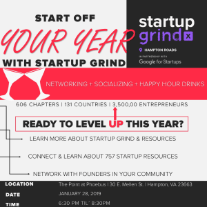 Start off YOUR Year with Startup Grind