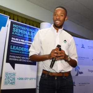 #SGMaseru Launch with Tokiso Nthebe