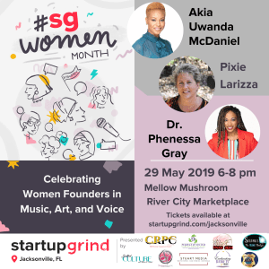 Celebration Women Founders in Music, Art and Voice - How to Control, Command & Create Success!