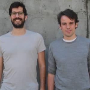 Humberto Pereira & Torben Schulz (dashdash Founders) at Startup Grind Porto