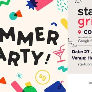 Nous habitons une  fête d'été à Startup Grind Cotonou et la hôte sera  Francis W. Ndi
