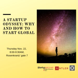 A Startup Odyssey: Why and How to Start Global