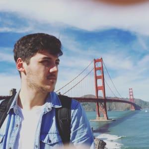 André Oliveira (Pixelmatters Founder) at Startup Grind Porto