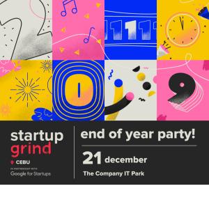 Startup Grind Cebu Year End Socials