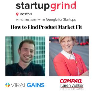 Internal vs External Growth: panel with Dan Levin (ViralGains) and Karen Walker (Compaq, OneTeam)