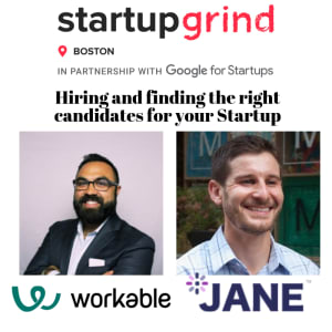 Hiring and finding the right candidates for your Startup (Panel with Workable and JANE.hr)