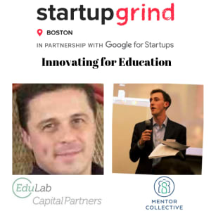 Innovating for Education w/Liam Pisano (EduLab Capital Partners) & Jackson Boyar (Mentor Collective)
