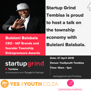 Talk on the State of the Township Economy with Bulelani Balabla