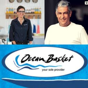 Fats Lazarides & Grace Harding (Founder & CEO of Ocean Basket)